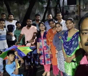 A dinner outing in our IITM campus