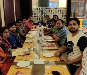 Group dinner at Samco restaurant