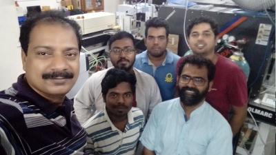 With Prof DB Ramachary, School of Chemistry, University of Hyderabad