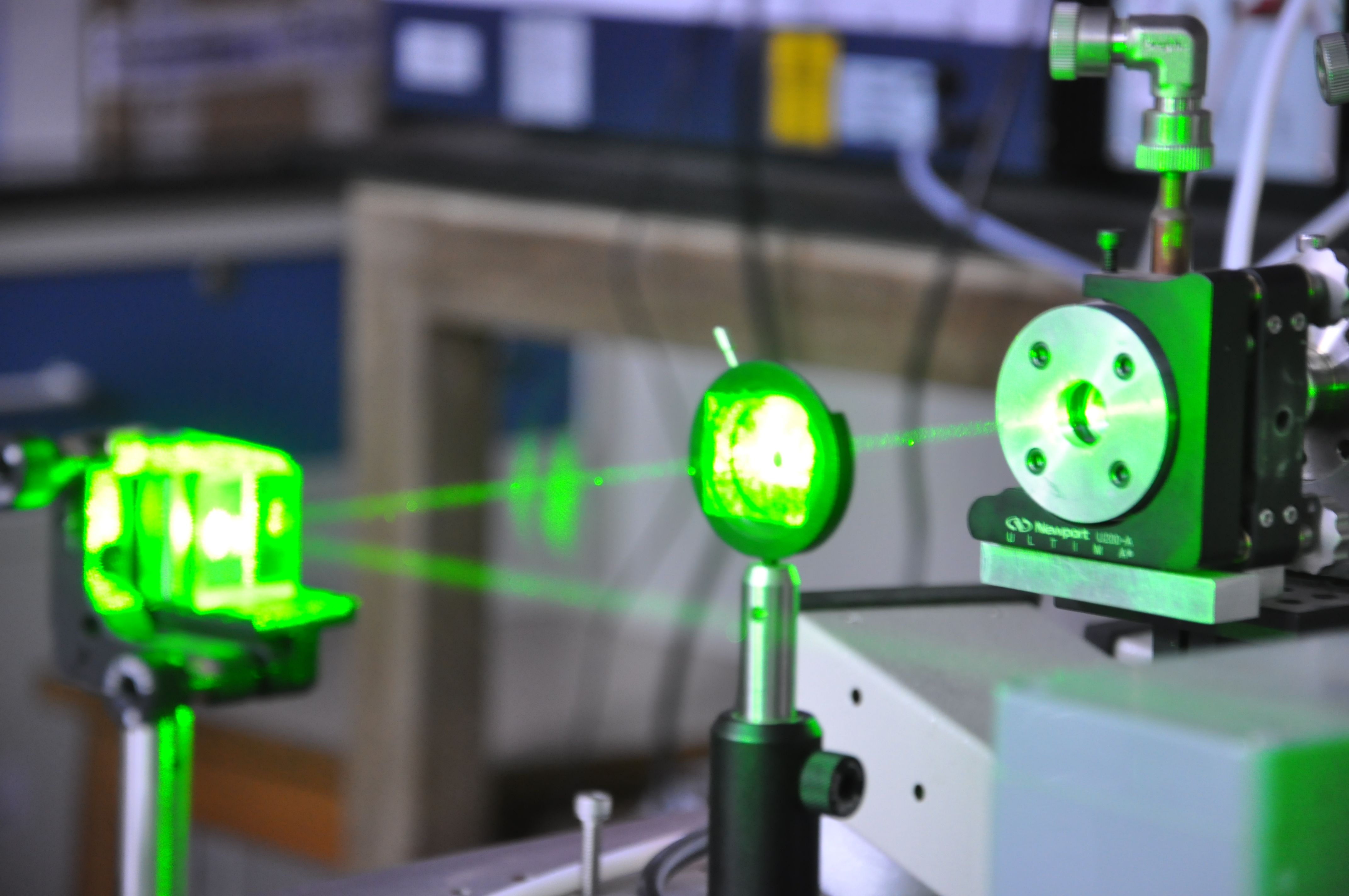 nanosecond pulsed LASERs